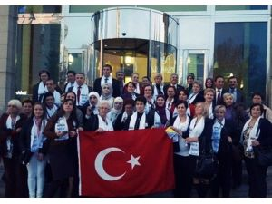 Bosnalı Kadınlardan Vedat Demiröz'e Ziyaret