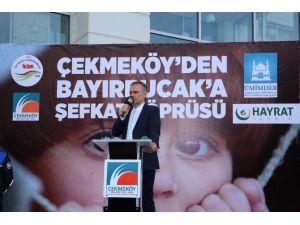 Çekmeköy Belediyesi'nden Bayırbucak Türkmenlerine Yardım Eli