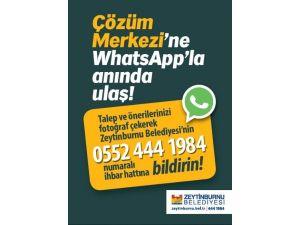 Zeytinburnu Belediyesi'nde Whatsapp Dönemi Başladı