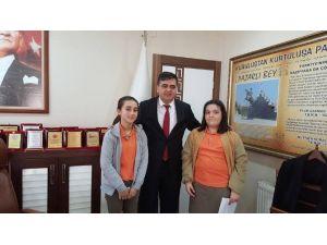 Ortaokul Öğrencilerinden Başkan Yalçın'a Ziyaret