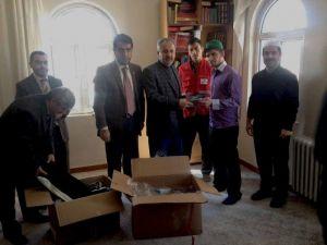 Kızılay'dan Kur'an Kursu Öğrencilerine Yardım