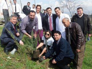 Alaşehir Devlet Hastanesi'nde 'Ağacına Sahip Çık' Kampanyası