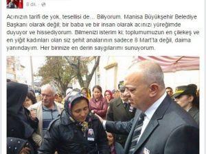 Başkan Ergün'den Şehit Annelerine Duygu Dolu Mesaj