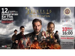 """Diriliş """"Ertuğrul"""" 12. Kar Film Festivali'nde"""