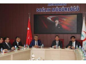 Adıyaman Sağlık Koordinasyon Kurulu Toplantısı Yapıldı