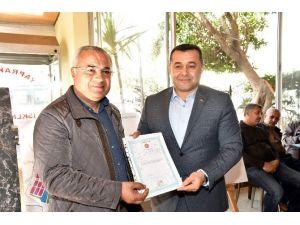 Alanya'da Yeni Sanayi Sitesinin Tapuları Teslim Edildi