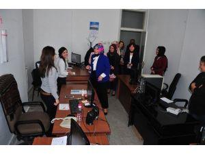 Güngör, Kadın Personelin Kadınlar Günü'nü Kutladı