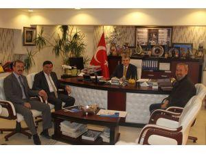 Başkan İkiz'den DOKAP'a ziyaret