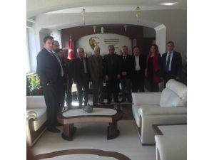 Türk Kızılayı Talas Şube Başkanlığından Talas Kaymakamı Zekeriye Güney'e Ziyaret