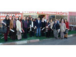 Seyitgazi Belediyesi'nin Kadın Çalışanları Kahvaltıda Buluştu