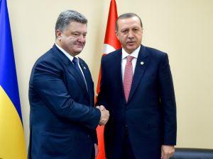 Ukrayna Cumhurbaşkanı Poroşenko yarın Türkiye'ye gidiyor