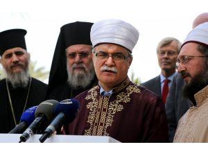 ABD Dışişleri Bakanlığı yetkilisi, Kıbrıs'ta dini liderlerle bir araya geldi