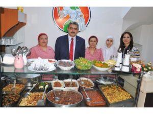 Başkan Alıcık, Ev Yemekleri Salonunun Açılış Törenine Katıldı