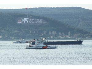 Rus Askeri Kargo Gemisi Dolu Gitti, Boş Geldi
