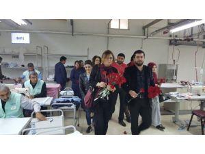 AK Parti Şanlıurfa İl Başkanlığı Çalışan Kadınları Unutmadı