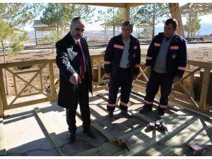 Sivas'ta Mesire Alanları Yeni Sezona Hazırlanıyor