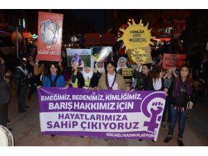 Kadınlardan 8 Mart Yürüyüşü