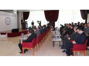 KTO Karatay Üniversitesi'nde Ufuk 2020 Ve Erasmus+ Bilgilendirme Toplantısı