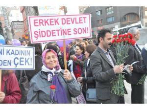 8 Mart Dünya Kadınlar Günü Zonguldak'ta Çoşkuyla Kutlandı