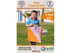 Dünya Oryantiring Günü Kayseri'de Düzenlenecek