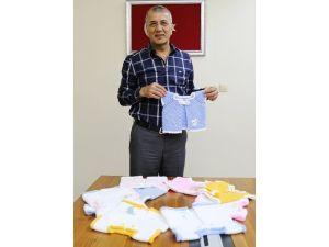Mezitli Belediyesi'ne Samsun'dan Bebek Kıyafetleri Geldi