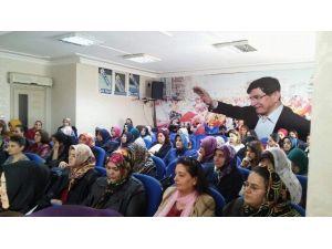 AK Parti De Kadının İslamdaki Yeri Anlatıldı