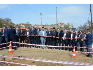 Kozyörük Mahallesi Kanalizasyon İnşaatının Temeli Atıldı