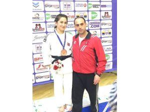Gemlikli Judocudan Avrupa Madalyası
