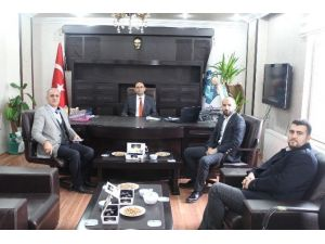 Ağrı Özel İdaresi Genel Sekreteri Tenekeci'ye Ziyaretler