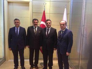 Başkan Kale'den Ankara'da Teşekkür Ziyaretlerinde Bulundu