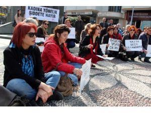 Yalovalı Kadınlardan Oturma Eylemi