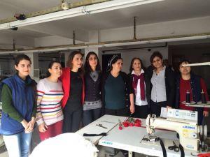 CHP'li İlgezdi, tekstil atölyelerini Meclis'e taşıdı