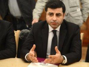 Demirtaş'tan Fezleke Yorumu: Biz Bir Tek Örgüte Üyeyiz, O da HDP