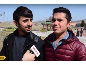 MAKÜ Öğrencileri Cumhurbaşkanı Erdoğan'ı Bekliyor