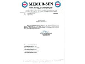 Memur-sen'den 1 Mayıs İçin Taksim Başvurusu