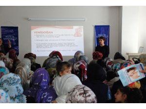 Anne Adaylarına Sağlık Eğitimi Düzenlendi