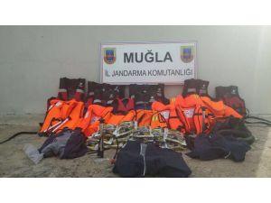 Marmaris'te yasa dışı insan kaçaklığı operasyonu