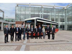 Tepebaşı Belediyesi'ne Yerli Üretim Elektrikli Otobüs