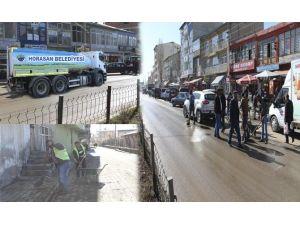 Horasan Belediyesinden Bahar Temizliği