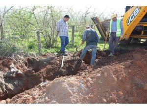 Akçakoca'da Doğalgaz Hattı Kazı Çalışmalarına Başlanıldı