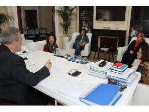 Başkan Karaçoban'a Halk Eğitimden Anlamlı Ziyaret