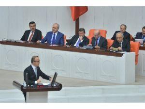 Başbakan Davutoğlu Ve Kılıçdaroğlu Mecliste