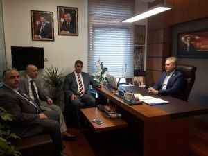 Rektör Polat'tan Milletvekili Uysal'a Ziyaret