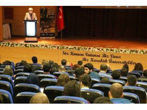 """""""7. Uluslararası Arkeoloji Öğrencileri Sempozyumu"""" KBÜ'de Başladı"""