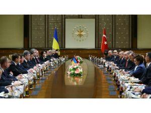 Erdoğan Ve Poroşenko Başkanlığında Kritik Zirve