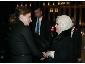Emine Erdoğan, Maryna Poroşenko İle Görüştü