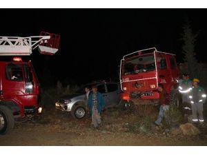 Marmaris'teki Orman Yangını Söndürülemiyor