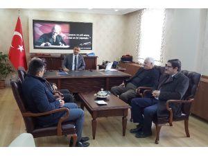 DAP Başkanı Adnan Demir Eleşkirt'te