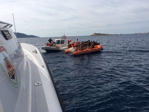 Lastik botta 144 Suriyeli yakalandı