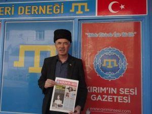 """Seydişehir'de """"Kırımın Sesi"""" Gazetesi Çıkmaya Başladı"""